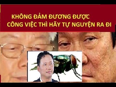 Trọng lú bị Tư Sang dằn mặt  sau khi để Trịnh Xuân Thanh trốn thoát !