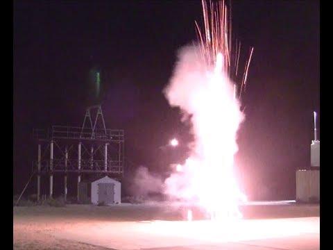 High School Rocket Lab's M Impulse Solid rocket Motor