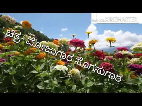 Kannadave nammamma! Kanadave namama | film-mojugar sogasugar | kannada karaoke with lyrics