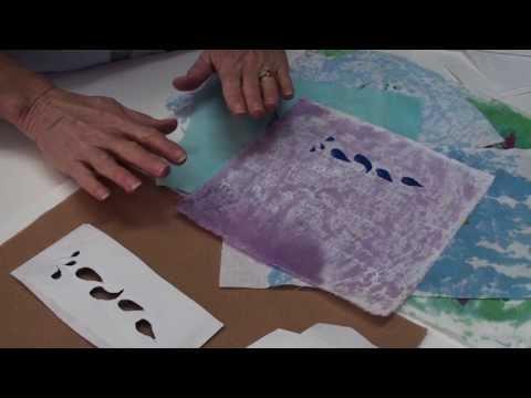 Make a Fast Stencil for a Fabric Print