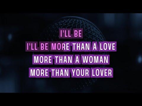 More Than A Woman (Karaoke) - Aaliyah