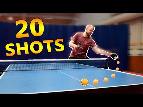 how to do side spin serve in table tennis