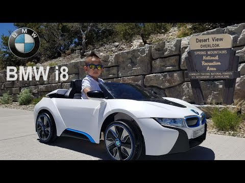 Power Wheels BMW i8 6 Volt Electric Battery Ride On at Spring Mountains Desert View Overlook