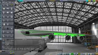 Kerbal Space Program RO Sandbox - An-225 Mriya