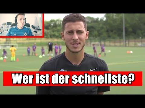 HAZARD bewertet seine Mitspieler von Chelsea..