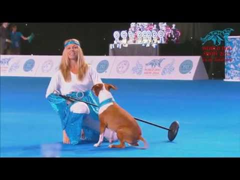 FCI Dog dance World Championship 2016 –Heelwork to music final - Carola Linth (Sweden)