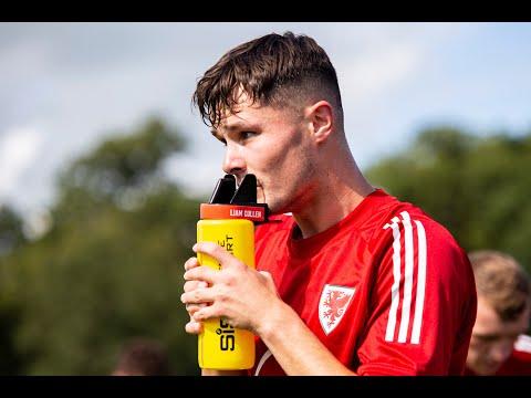 Wales U21 training ahead of Bosnia & Herzegovina (September 2020)
