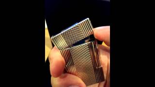 Amazing PING!!! S.T. Dupont LIGNE 2 Windsor Silver