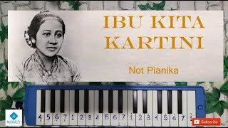 IBU KITA KARTINI Not Angka Pianika