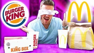 BURGER KING vs. MC DONALDS (BLIND TESTEN)