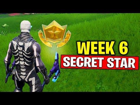 WEEK 6 SECRET BATTLE STAR LOCATION! Fortnite Season 10 - Secret Battle Star Week 6 | TamashaBera