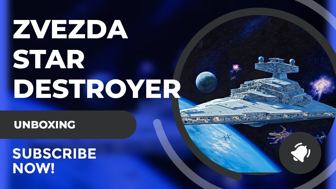 Zvezda Star Destroyer Unboxing!