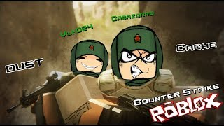 [ROBLOX TM CSGO] Playing for the First Time [Cabazorro & Vile024]