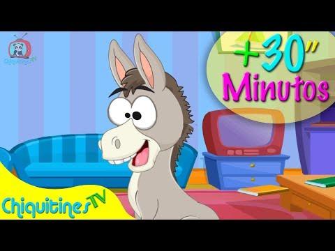 A mi Burro y 30 Minutos de Música Infantil