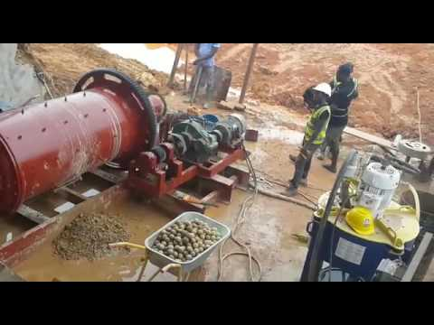 Gold Ore Processing at Rhema Mining Company