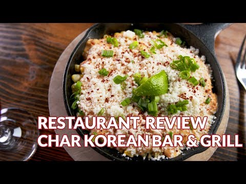 Restaurant Review - CHAR Korean Bar and Grill | Atlanta Eats