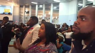 """After the """"Word of God"""" Praise  House of God national youth Council 2015"""