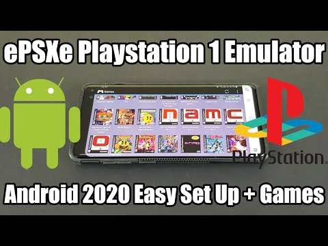 EPSXe - Playstation 1 - PS1 Emulator - Android 2020 - Easy Set Up + Games!
