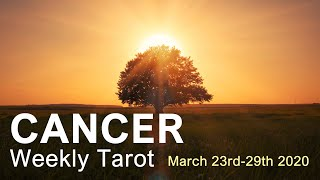 "CANCER WEEKLY TAROT READING  'PHOENIX RISING CANCER!""  March 23rd-29th 2020 Tarot Forecast"