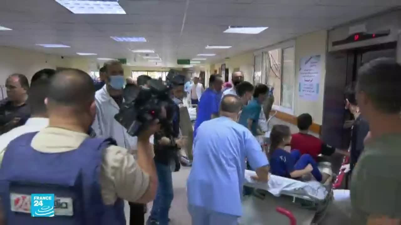 مستشفيات غزة تغص بالجرحى والمصابين جراء القصف الإسرائيلي  - نشر قبل 4 ساعة