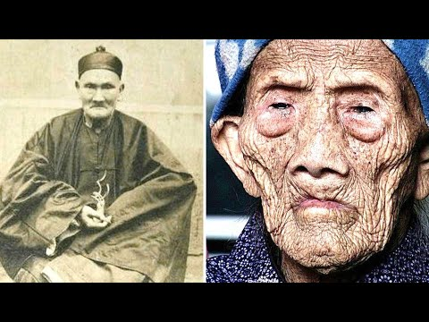 The World's Oldest Man Li Ching Yuen Who Was 256 Revealed His Secret