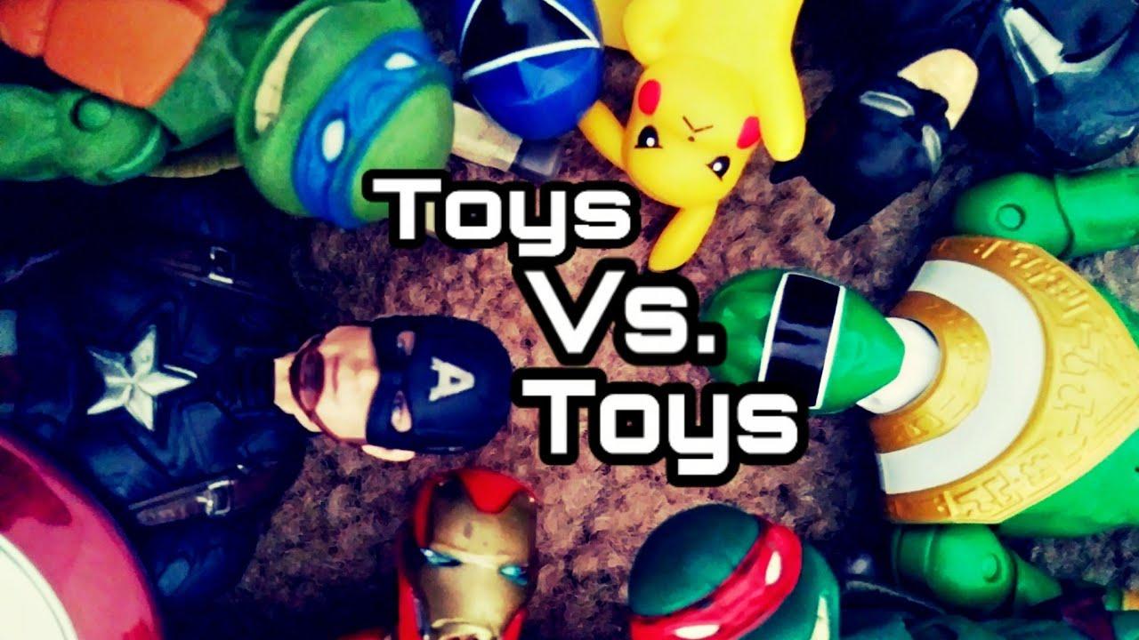 Toys Vs Toys Stop Motion Film Youtube
