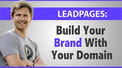 Leadpages: How to Add a Custom Domain
