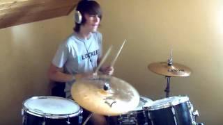 Klaxons - Echoes drum cover