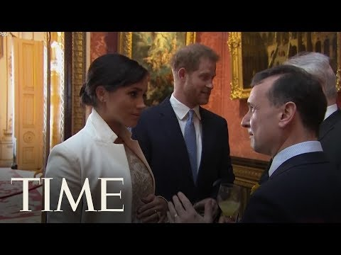 Meghan Markle & Kate Middleton Got Together To Celebrate Prince Charles At Buckingham Palace | TIME