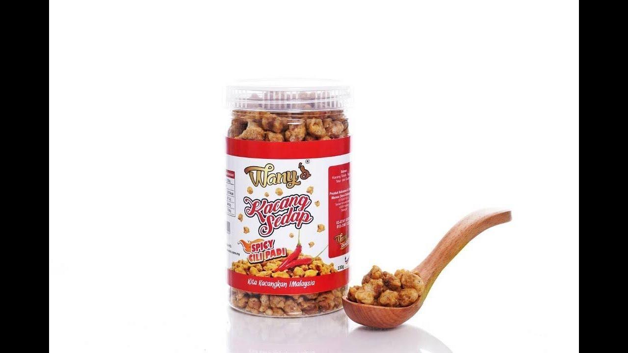 KCHUP MKAN: Kacang Botak Gentel Gentel - YouTube