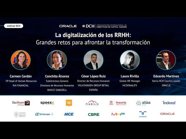 La digitalización de los RRHH: Grandes retos para afrontar la transformación