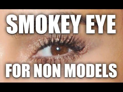 REALISTIC SMOKEY EYE FOR NON MODELS!