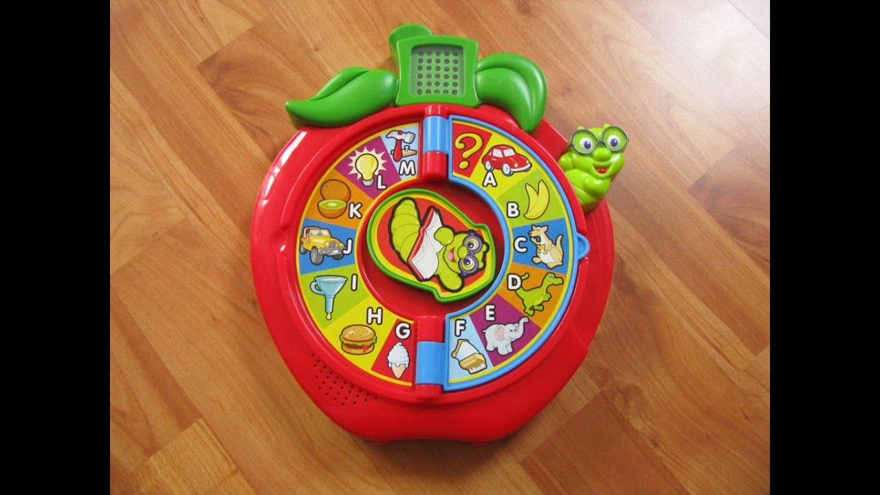 Alphabet Learning Toys : Mattel italian alphabet apple interactive learning toy youtube