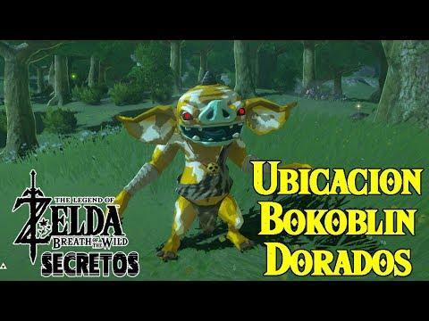 Secretos y Trucos de Zelda Breath of the Wild #84 | Bokoblin Dorado Ubicacion y Requisitos