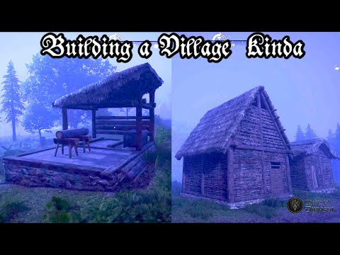 I Built a Ghost Town in Medieval Dynasty |