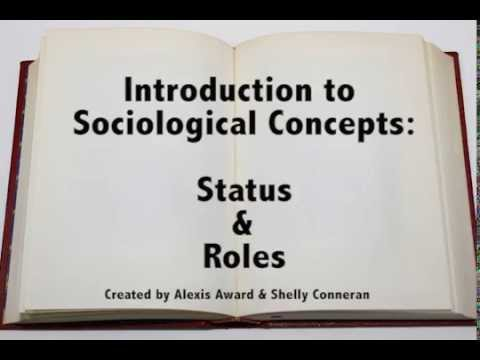 Introduction to Sociological Concepts: Status and Roles