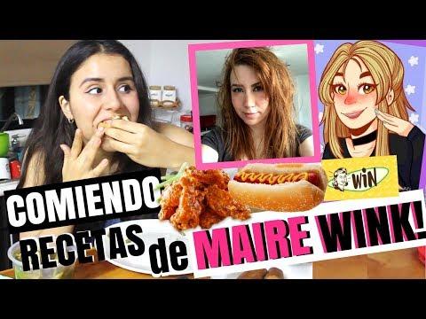 UN DÍA ENTERO COMIENDO SÓLO RECETAS DE MAIRE WINK!