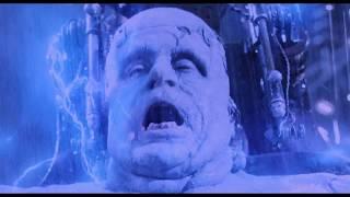 Игор гонится за Карлом. Потомство Дракулы ожило. Чудовище Франкенштейна спасает Анну. HD