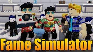 NEW LUXURY SIMULATOR! 😱😍 | ROBLOX: Fame simulator