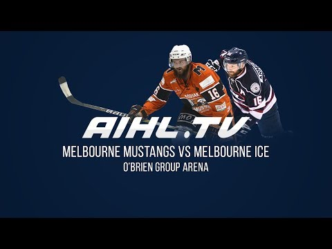 Melbourne Ice @ Melbourne Mustangs  (11/5/18)