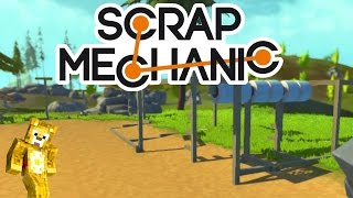Scrap Mechanic - Wipeout Obstacle Course