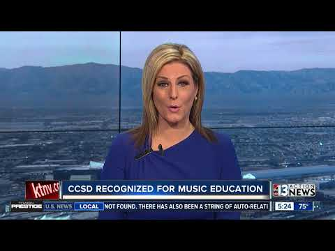 Clark County School District recognized for music education
