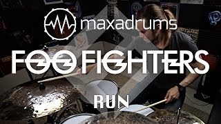 [NEW] FOO FIGHTERS - RUN (Drum Cover + Transcription / Sheet Music)