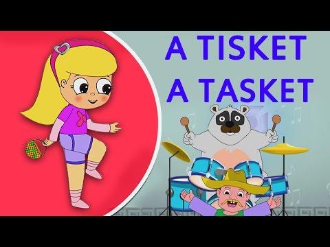 A Tisket A Tasket (HD)   Nursery Rhymes   Popular Kids Songs   Shemaroo Kids
