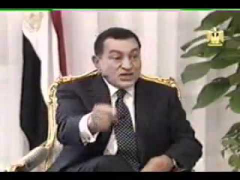 Interview with Pres hosni Mubarak حوار مع الرئيس محمد حسني مبارك