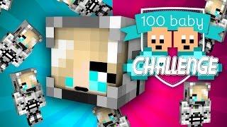 Minecraft 100 Baby Challenge!