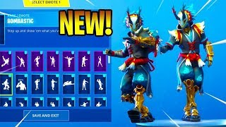NEW TARO SKIN REVIEW WITH EMOTES - FORTNITE SEASON 6 LEAKS & CLIPS