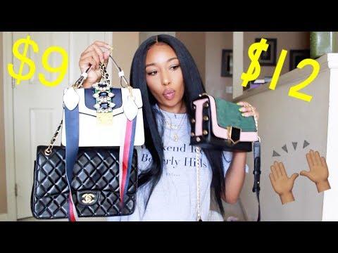 Affordable Designer Inspired Handbag Haul| Ft. Shein + Giveaway (CLOSED)