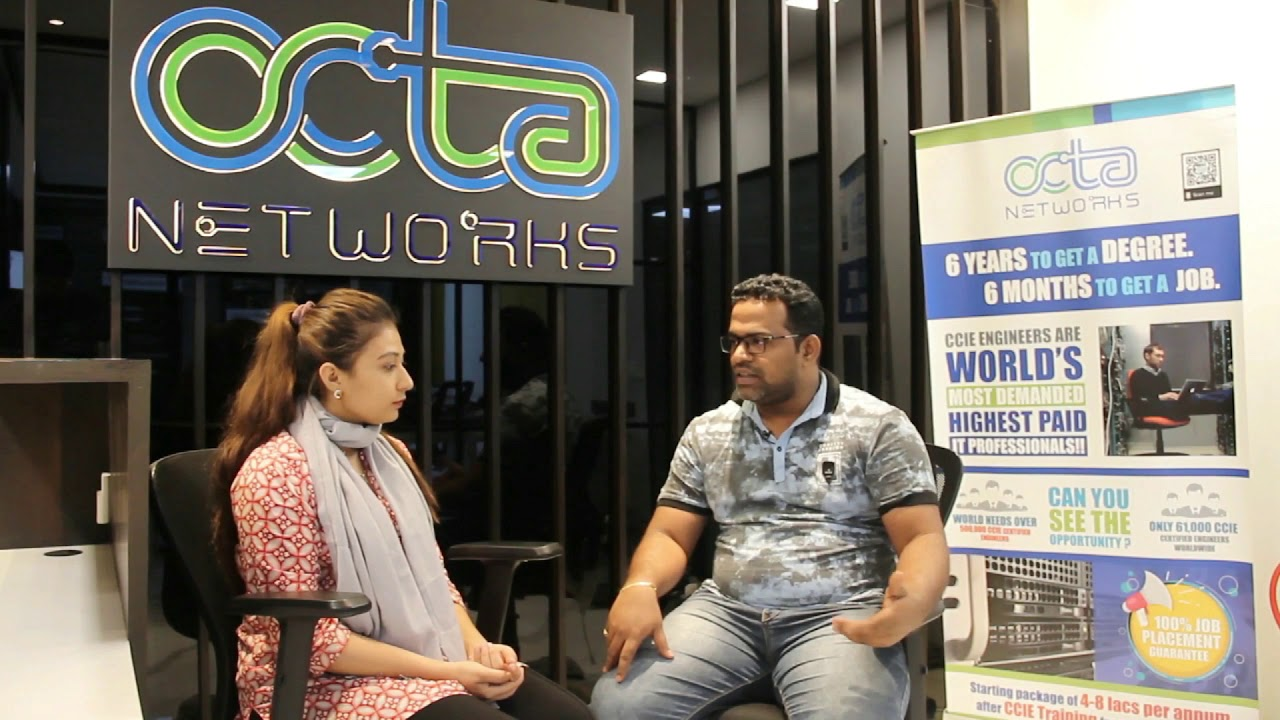 Mr. Swapnil Manjalkar from Mumbai shares his Octa Networks CCIE Service Provider training review.