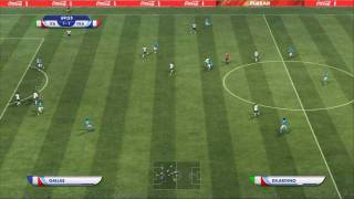 Fifa world cup 2010 the game france v italy + new penalty system!